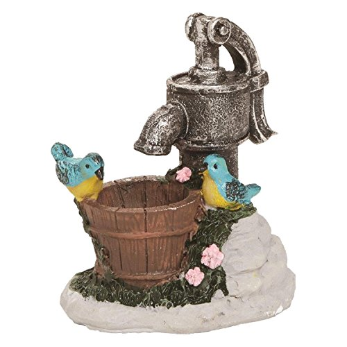 Used, FAIRY GARDEN OR DOLLHOUSE VILLAGE WATER PUMP WITH BIRDS for sale  Delivered anywhere in USA