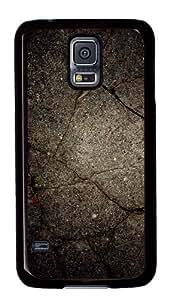 Samsung Galaxy S5 Case,Samsung Galaxy S5 Cases - Grunge Texture Custom Polycarbonate Hard Case For Samsung Galaxy S5 - Black