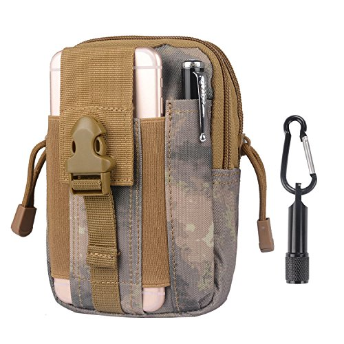 Tactical Pouch - Compact Water-resistant Molle EDC Utility Gadget Gear Tools Organizer...
