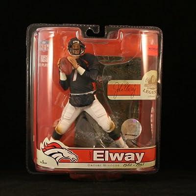JOHN ELWAY / DENVER BRONCOS McFarlane 6 Inch NFL LEGENDS SERIES 3 Sports Picks Action Figure
