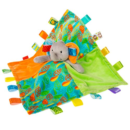 Taggies Little Leaf Elephant Character Blanket by Taggies