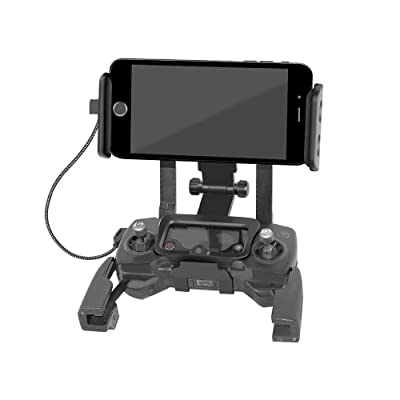 RC GearPro Foldable 4.6-11 Inch Phone/Tablet Extended Front Holder Adapter for DJI Mavic 2 Pro & Spark Drone Remote Controller, Free Neck Strap: Toys & Games