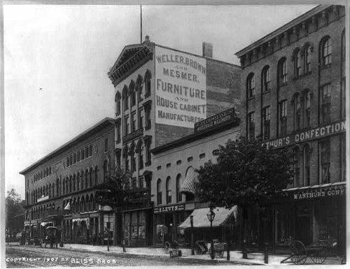Photo: Main St,Buffalo,NY?,M'Arthurs Building,c1907,Erie Co.