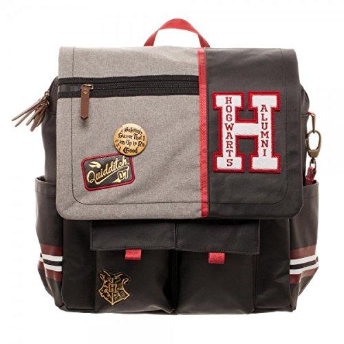 Backpack Harry Potter Hogwarts Alumni Utility Bag Crossbody Messenger Laptop Case