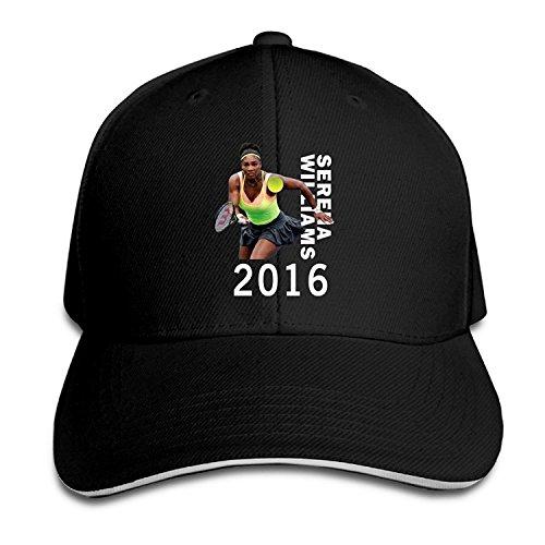 BIUBUL 2016 Serena Williams Us Open Tennis Baseball Caps Mens Snapback Hip Hop Flat Hat