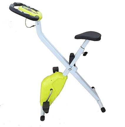 ATAA X-Bike Bici Spinning - Bicicleta estática Fitness Plegable con pulsómetro