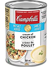 Campbell's, No Salt Added Cream of Chicken Soup, 284 mL (Packaging May Vary)