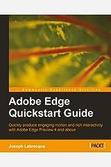 Adobe Edge Quickstart Guide Kindle Edition