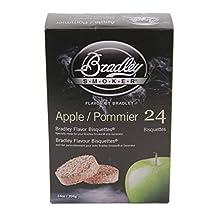 Bradley Smoker Flavor Bisquettes-Apple 24-Pack
