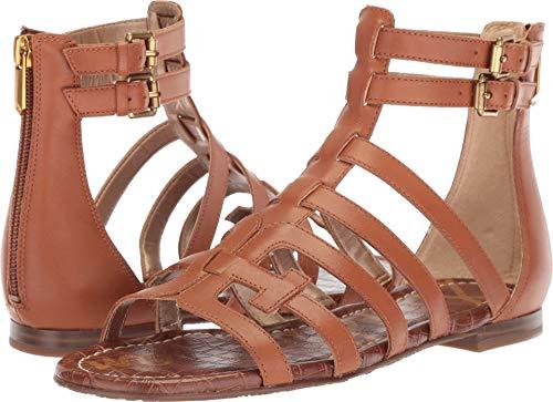(Sam Edelman Women's Berke Sandal, Saddle Leather, 5.5 M US)