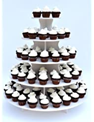 5 Tier Round Cupcake or Treat Tower