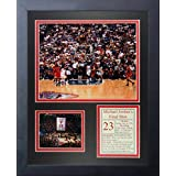 "Legends Never Die""Michael Jordan Final Shot"" Framed Photo Collage, 11 x 14-Inch"