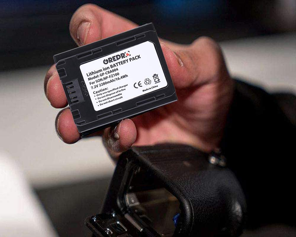 Amazon.com: Juego de cargador de batería para cámara Grepro ...