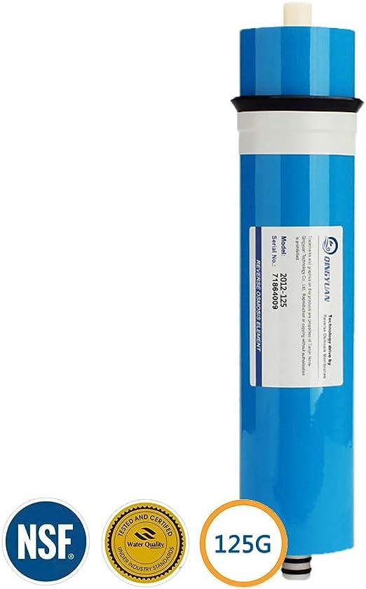 LZH FILTER 2012-125GPD RO Ósmosis Inversa Membrana, Cartuchos de Repuesto para Purificador de Agua de Ósmosis Inversa Casa: Amazon.es: Hogar