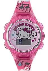 Hello Kitty Flashing Lights LCD Watch