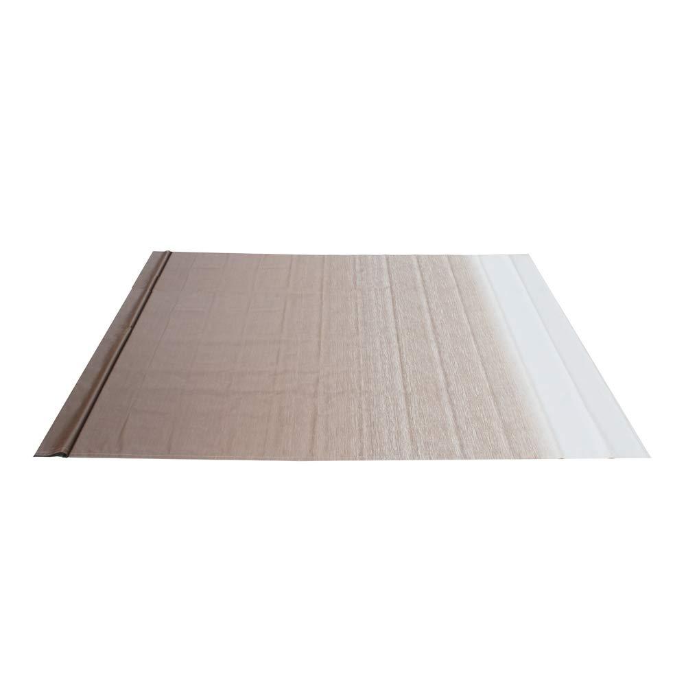 ALEKO RVFAB20X8BRN13 RV Awning Fabric Replacement 20 x 8 Feet Brown Fade