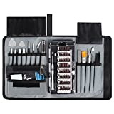 Syntus 80 in 1 Precision Screwdriver Set with Magnetic Screwdriver Kit, Essential Electronics Repair Tool Kit With Portable Pouch for iPhone, iPad, MacBook, Gaming Console, Controller