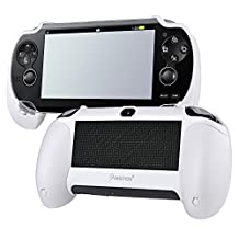 Insten Hand Grip Compatible with Sony PlayStation Vita, White