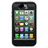 OtterBox Defender Series Case and Holster for iPhone 4/4S - Black