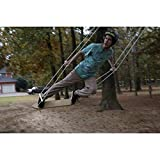 Air Surfer Swing Set (38-SURF).4 Adjustable Height Maple Handles. 80' UV and Mildew Resistant Red Alert Rope. Non-Toxic.Water and Weather Resistant with a Clear Coat Finish.