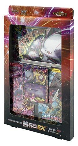 Pokémon Cartes XY BREAK Spécial Set de carte Jumbo 42 cards Mega(M) Mewtwo EX Rouge Ver Corée TCG