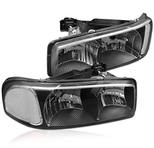 yukon headlights black - 6