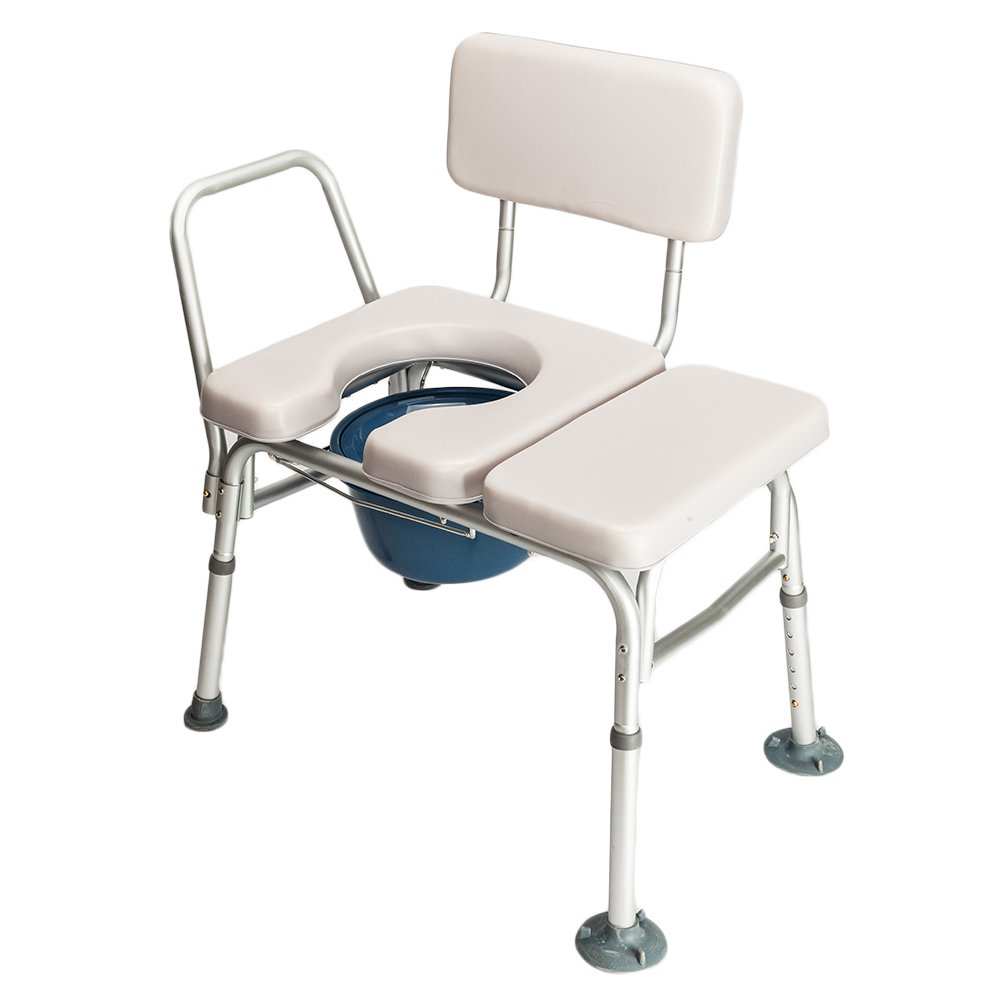 Azadx 2 In 1 Medical Commode And Transfer Bench