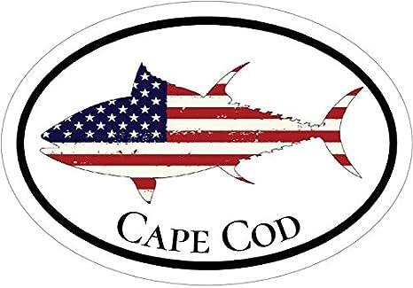 Cape Cod Vinyl Die Cut Decal Sticker