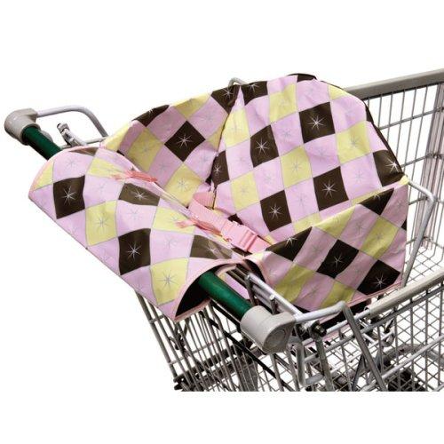 Infantino ICO Plaid Savvy Seat Jr. - Pink Multi