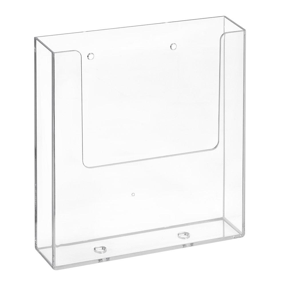 DIN A5–Espositore da parete con i fori/Espositore/Flyer titolare/montaggio a parete/Trasparente–zeigis® Unbekannt