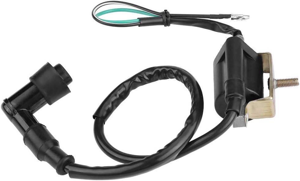 Qiilu Bo/îte de CDI de bobine dallumage de relais pour 50cc 70cc 90 110cc ATV Quad