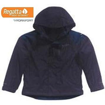 Boy/'s Regatta /'Fox/' Grey Waterproof 3-in1 Coat.