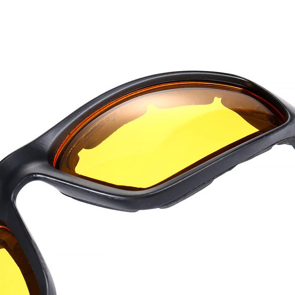 incassables antibu/ée enveloppantes free size transparent rembourr/ées Lunettes de soleil pour faire de la moto ou du v/élo