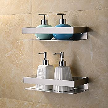 Amazon.com: KES Bathroom Shelf Stainless Steel Bath Shower Shelf ...