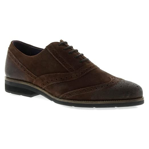 Men'S Blackstone Dark Brown Scm002 Shoes