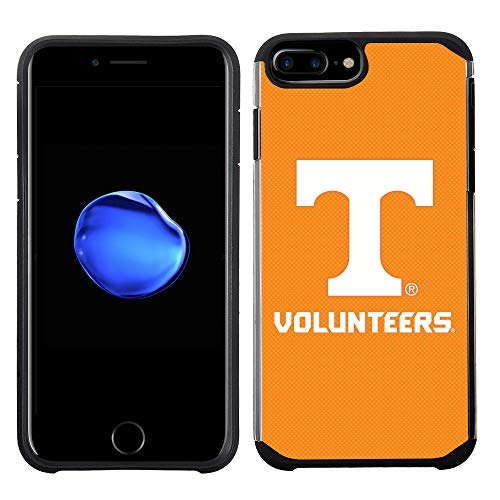 Tennessee Volunteers Case - Prime Brands Group Textured Team Color Cell Phone Case for Apple iPhone 8 Plus/7 Plus/6S Plus/6 Plus - NCAA Licensed University of Tennessee Volunteers