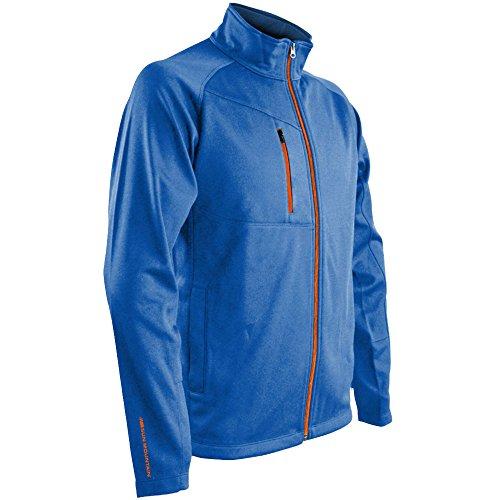 Sun Mountain Mens Isotherm Full Zip Jacket Royal XL ()