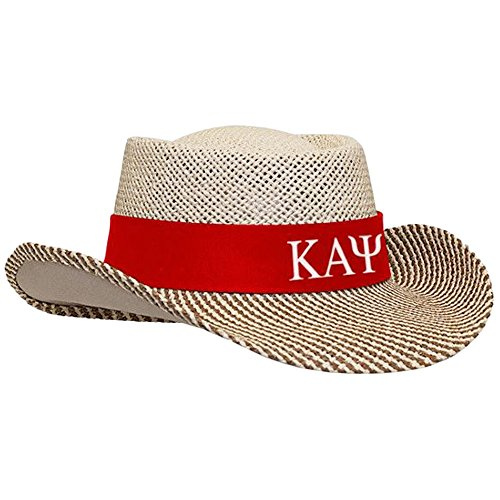 Kappa Alpha Psi Straw Hat Red ()