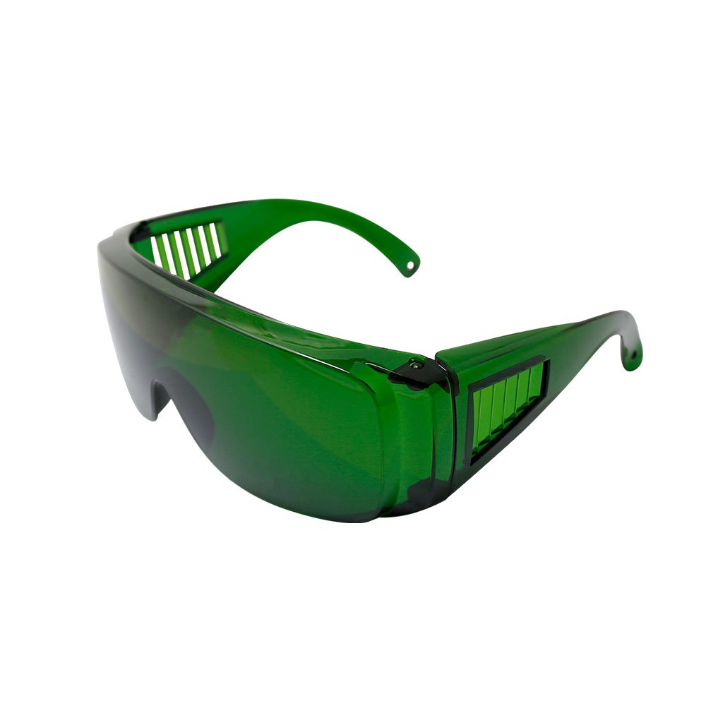 Q-BAIHE 340nm-1250nm Laser Glasses Protection Glasses Blue Violet Light Filter Glasses Laser Engraving Goggles Goggle-OD+4/EU