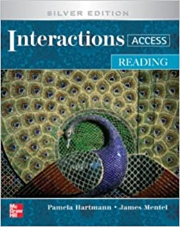 Reading Student Book plus Key Code for E-Course Reading Student Book plus Key Code for E-Course (Interactions)
