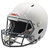 Riddell Victor Youth Helmet, White/Gray, Large