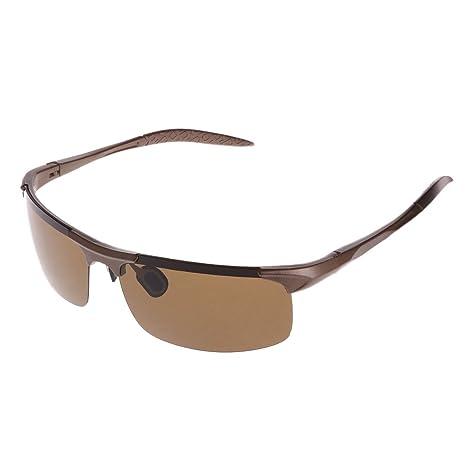 Logres 1 par de gafas polarizadas de pesca, ciclismo, conducción, al aire libre
