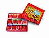 Faber Castell Beeswax Crayons School Pack, 240 Jumbo Crayons - Art Tools for Education and Classroom