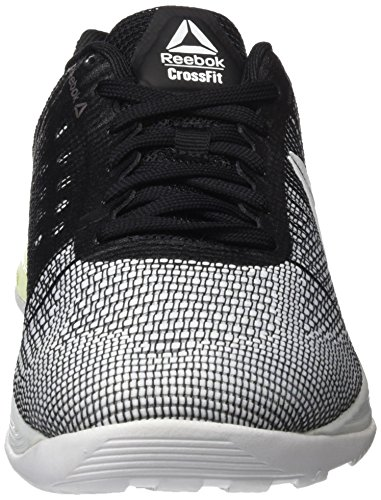 Zapatillas electric Nano Flash 7 white Running Crossfit Unisex Reebok black De R 0 Blanco PHCqqgw