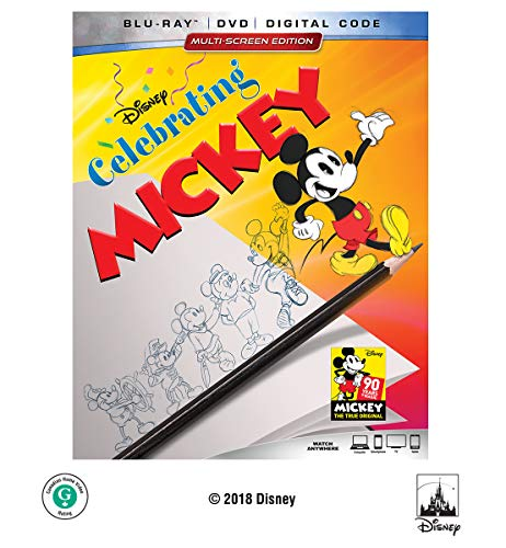 VHS : CELEBRATING MICKEY (HOME VIDEO RELEASE) [Blu-ray]