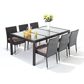 Presupuesto Sevilla mesa de comedor y 6 sillas apilables