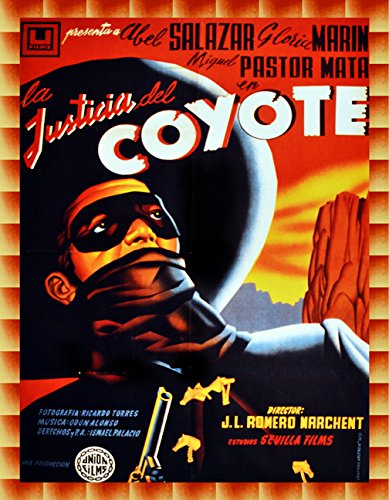 16''x20''Decoration movie Poster.La justicia del coyote.Mexican.Spanish film.9507 by Posters Universe