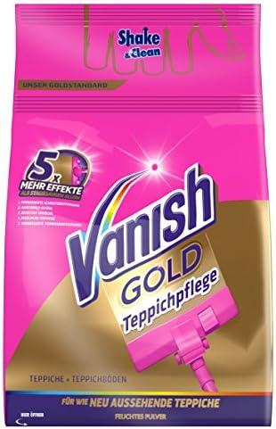 Vanish Power polvo Clean y limpiador de superficies de Fresh grande de alfombra, 1er Pack (1 x 750 g): Amazon.es: Salud y cuidado personal
