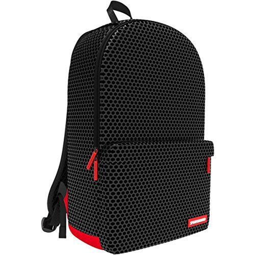 Sprayground-Unisex-Hexagon-Mesh-Cargo-Backpack-One-Size-Black