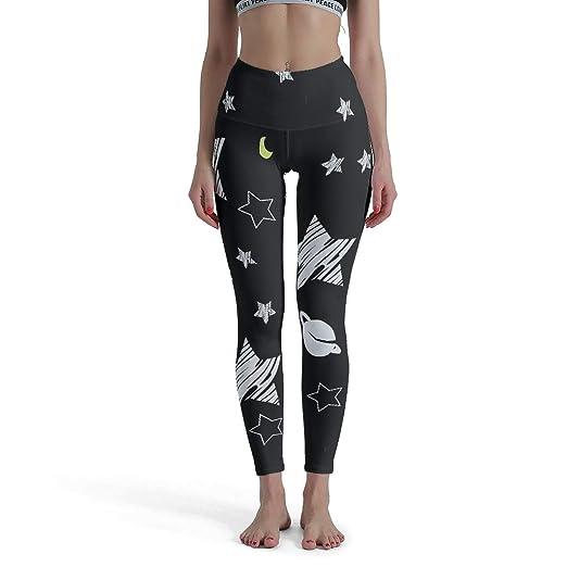 CUCIN-Legging Stars - Mallas de Yoga para Regular el Vientre ...